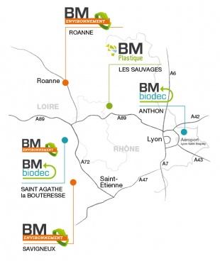 BM Environnement localisation